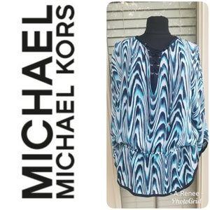Michael Kors Women's Summer Shirt - Size Large